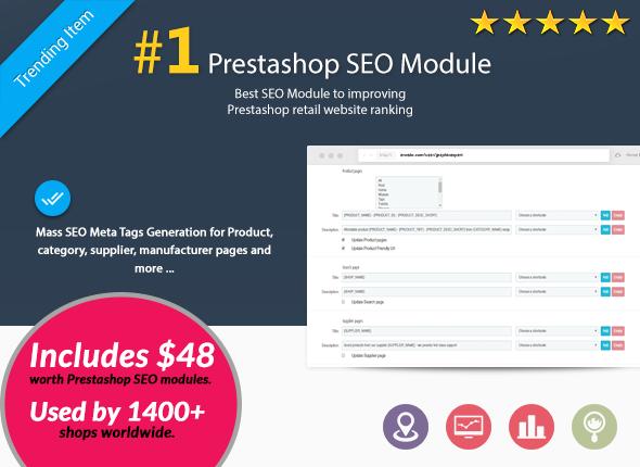 Melhor módulo de SEO Prestashop 1.6 e 1.7